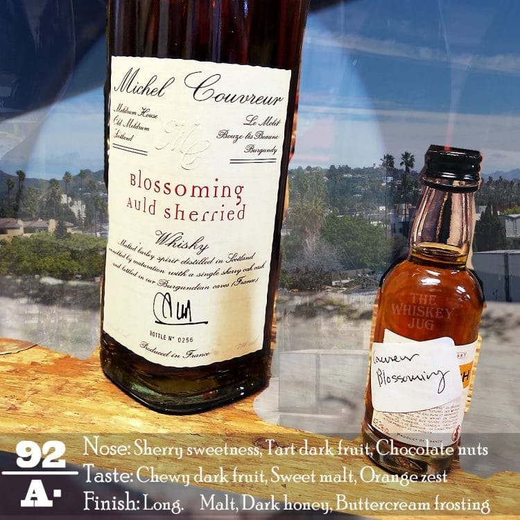 Michel Couvreur Blossoming Auld Sherried Review