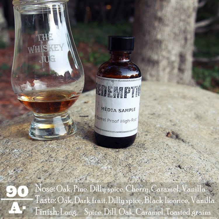 Redemption Barrel Proof High Rye Bourbon Review