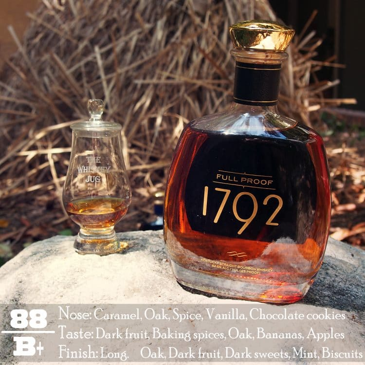 1792 Full Proof Bourbon Review