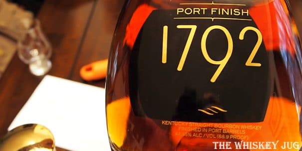 1792 Port Finish Bourbon Label