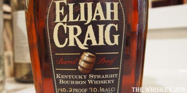 Elijah Craig Barrel Proof Label