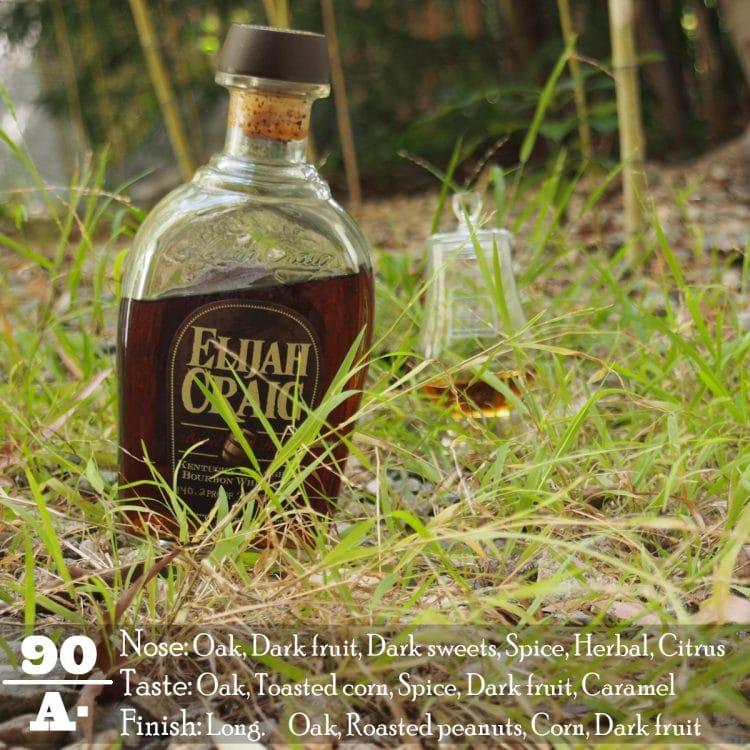 Elijah Craig Barrel Proof Label Review