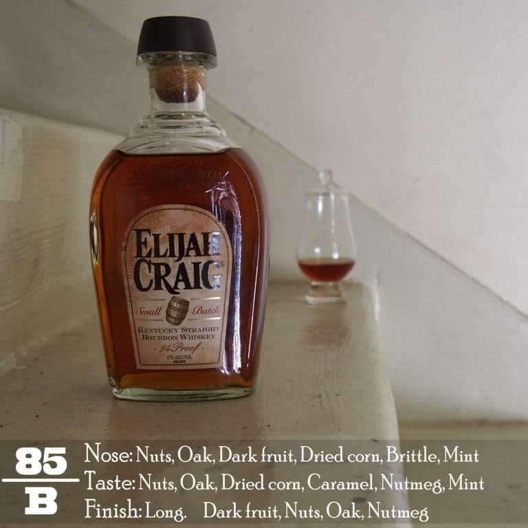 c0fd2d42ae6 Elijah Craig Small Batch is the modern No Age Statement (NAS) version of  what used to be the Elijah Craig 12 years and is now supposedly a  combination of 8 ...