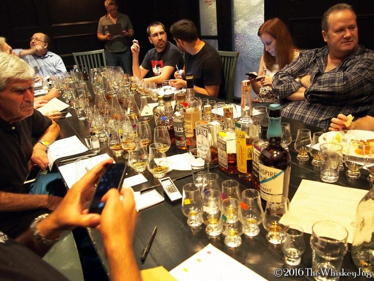 SoCal Whiskey Club 8 Blind Ryes Tasting