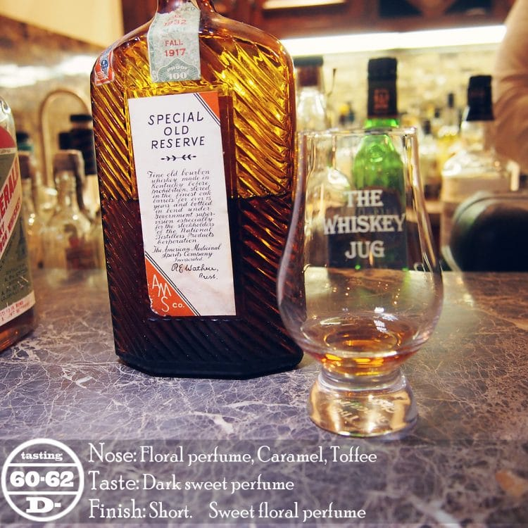 Special Old Reserve Medicinal Pint Review