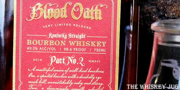 Blood Oath Pact 2 Label