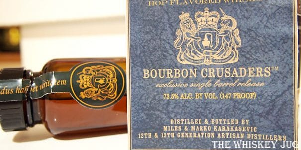 Bourbon Crusaders Charbay Label