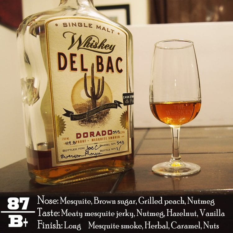 Del Bac Dorado Private Barrel Review