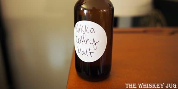 Nikka Coffey Malt Label