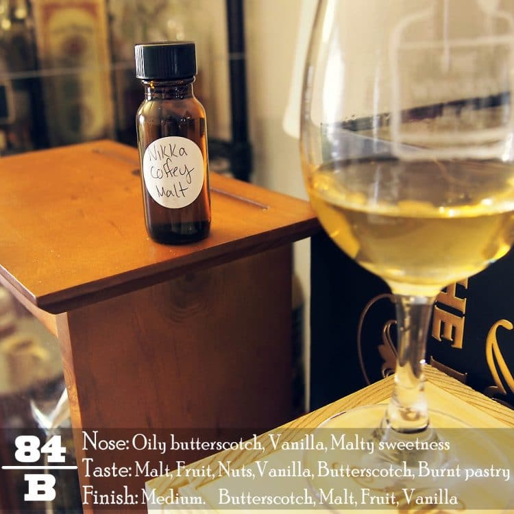 Nikka Coffey Malt Review