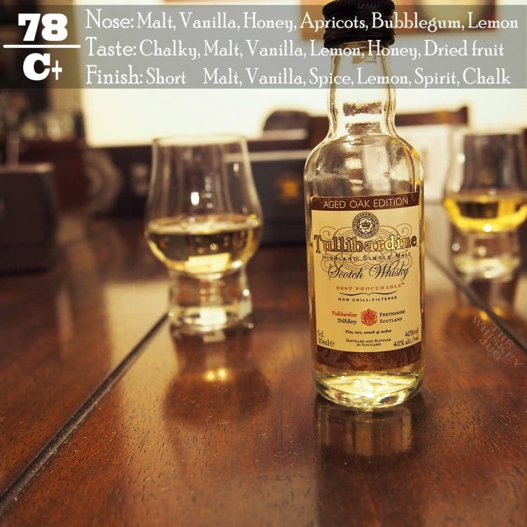 Tullibardine Aged Oak Edition Review