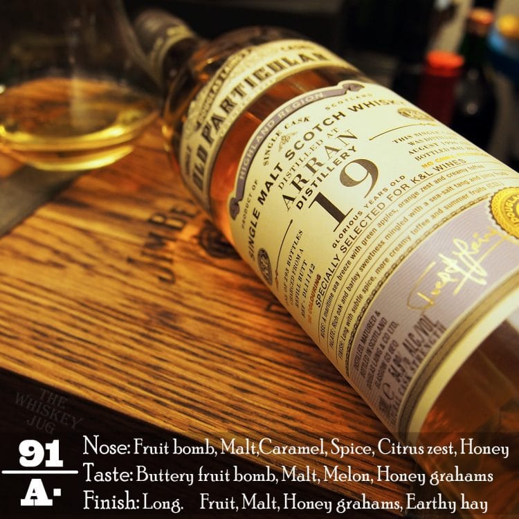 1996 Old Particular Arran 19 Review