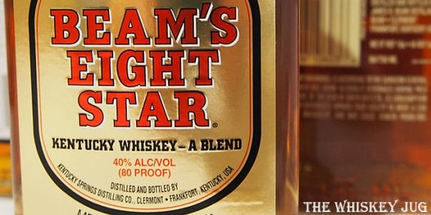 Beam's Eight Star Label