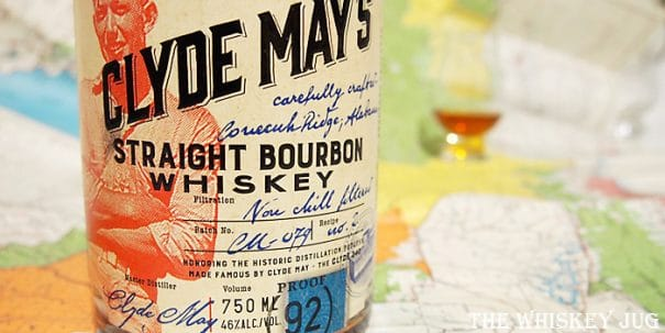 Clyde May's Bourbon Label