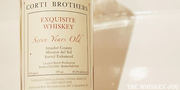 Corti Brothers Exquisite Whiskey Label