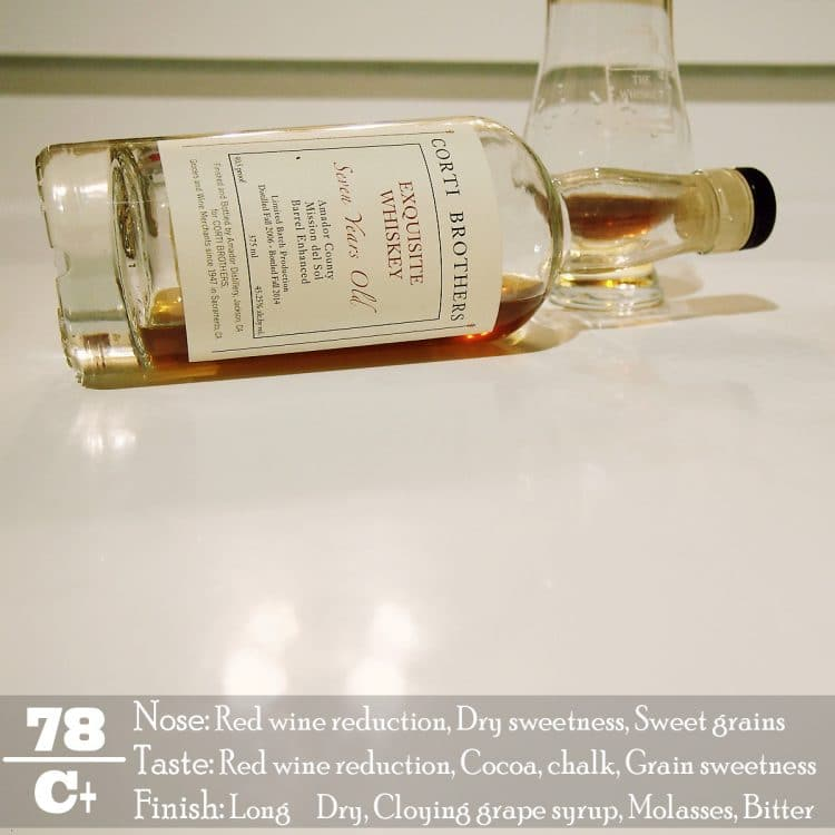 Corti Brothers Exquisite Whiskey Review