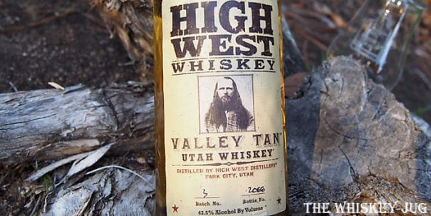 High West Valley Tan Batch 3 Label