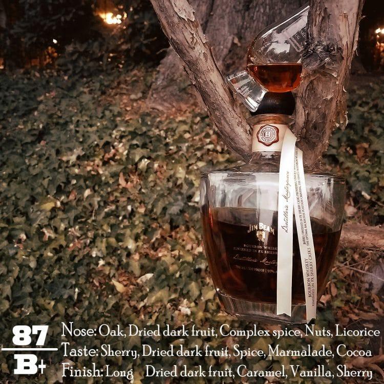 Jim Beam Distiller's Masterpiece Review