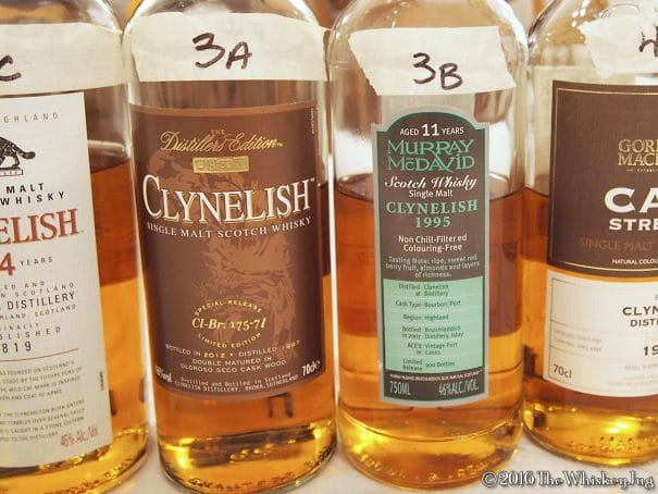 Malt Nuts: Clynelish Tasting Part 2 Round 3