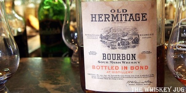 Old Hermitage Medicinal Pint Label