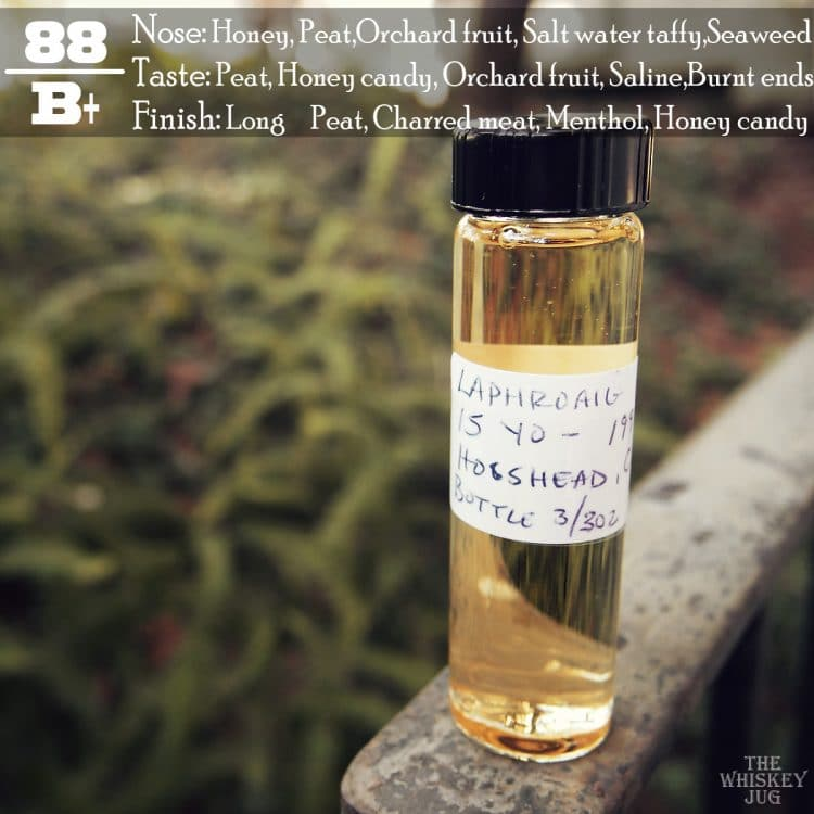 1996 Signatory Vintage Laphroaig 15 Years Review