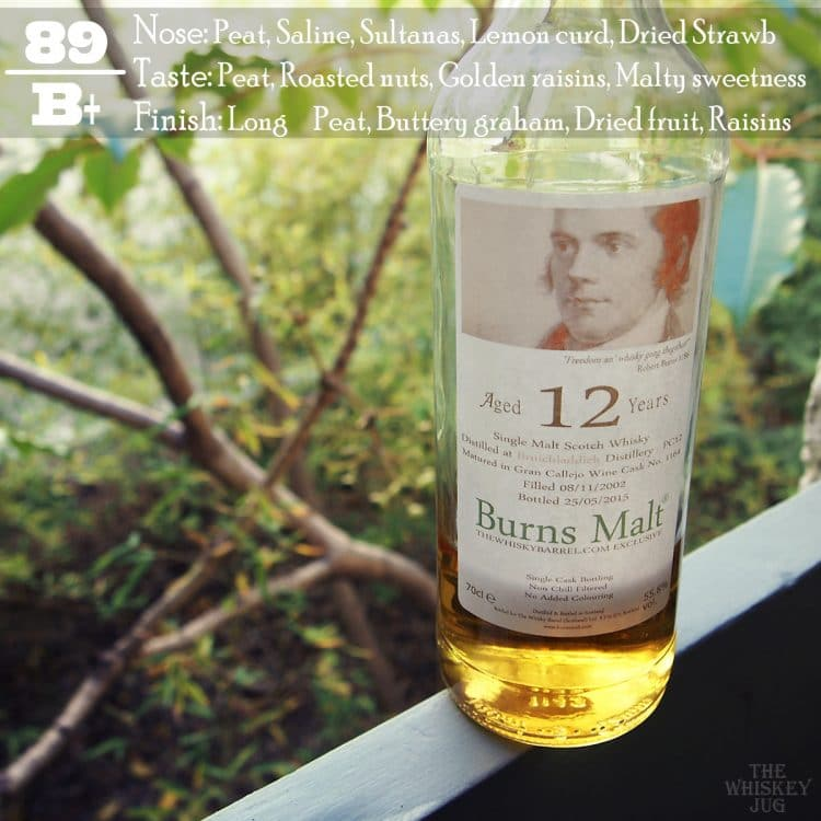 2002 Burns Malt Port Charlotte 12 years Review