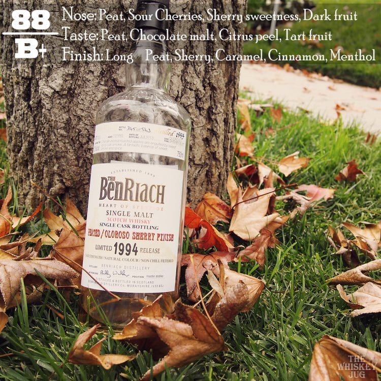 BenRiach Peated Oloroso Single Cask Review