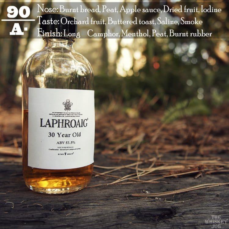 Laphroaig 30 Label Review
