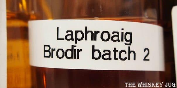 Laphroaig Brodir Label
