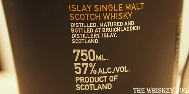 Octomore 6.1 Label