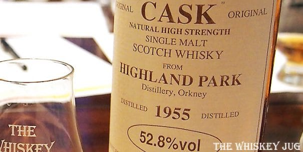 1955 Gordon and Macphail Highland Park 25 Years Label