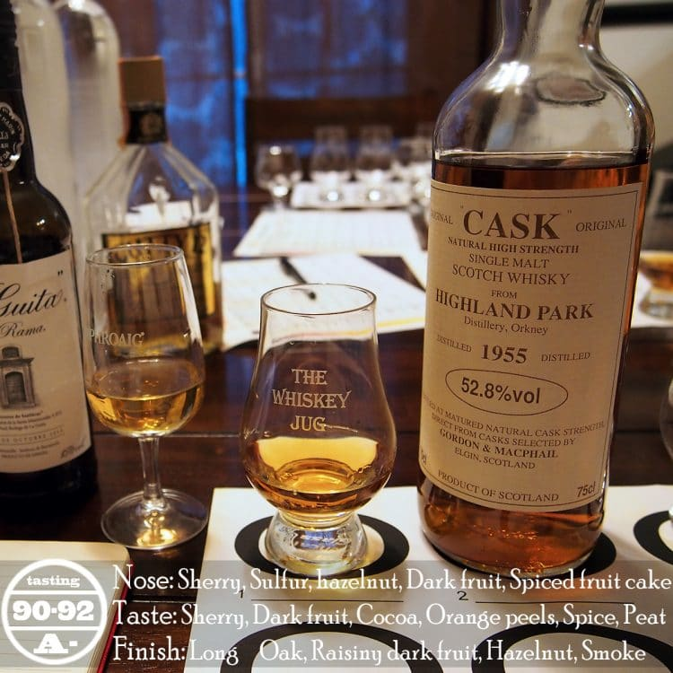 1955 Gordon and Macphail Highland Park 25 Years Review