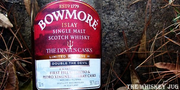Bowmore Devil's Casks Batch 3 Label