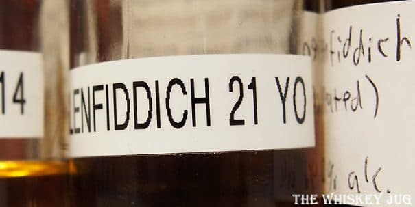 Glenfiddich 21 Label