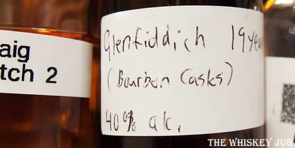 Glenfiddich Age of Discovery Bourbon Cask Label