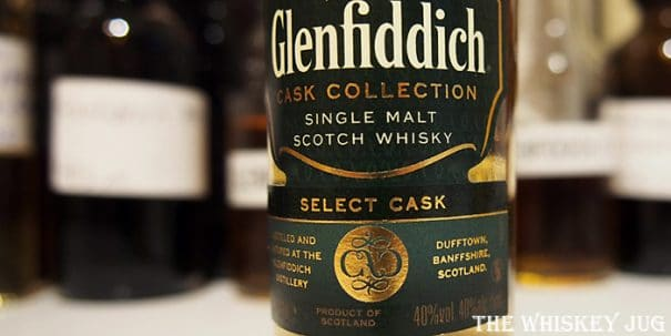 Glenfiddich Select Cask Label