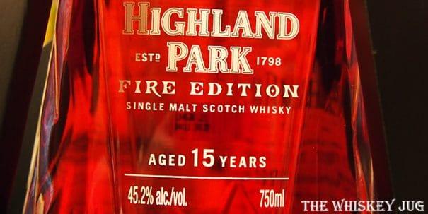 Highland Park Fire Label