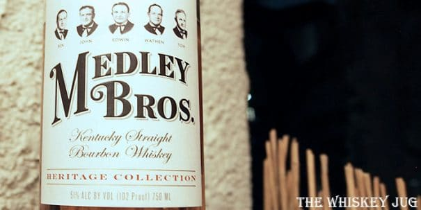 Medley Bros Bourbon Label