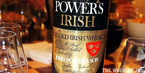 1970s Power's Irish Whiskey Label