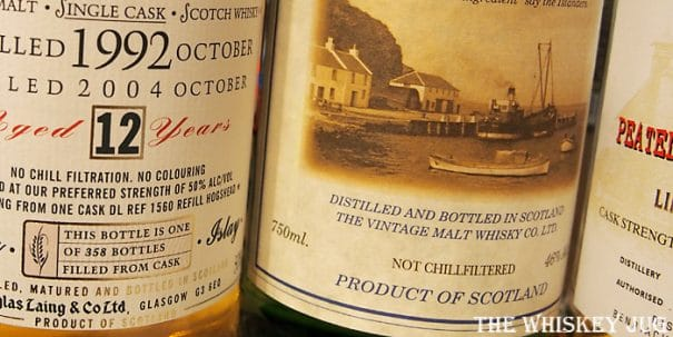 Classic of Islay 12 Years Label