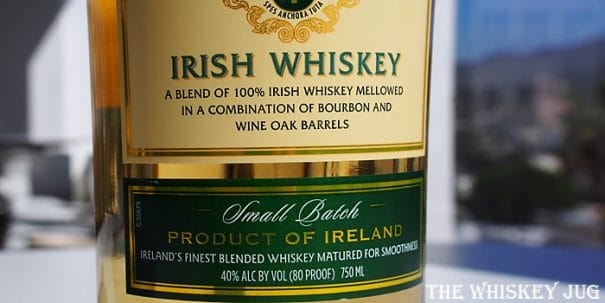Dunsmore Irish Whiskey Label