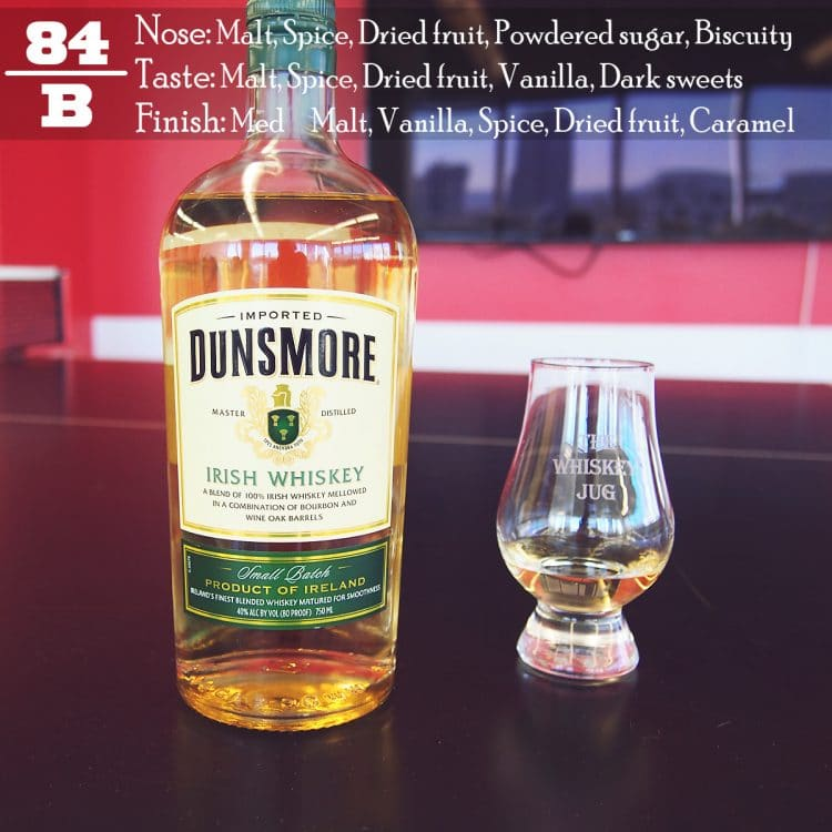 Dunsmore Irish Whiskey Review
