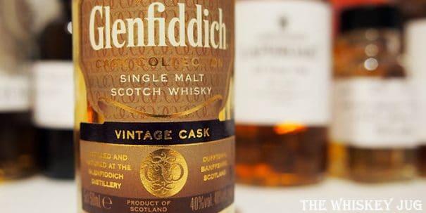 Glenfiddich Vintage Cask Label
