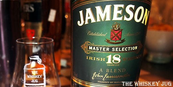 Jameson 18 Years label