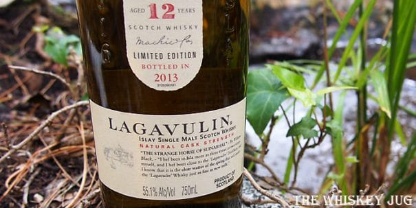 Lagavulin 12 Label