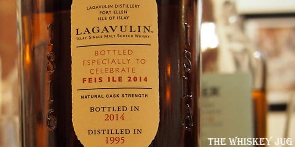 Lagavulin 2014 Feis Isles Edition Label