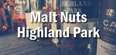 Malt Nuts Highland Park Tasting