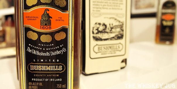 1990s Bushmills Black Bush Label