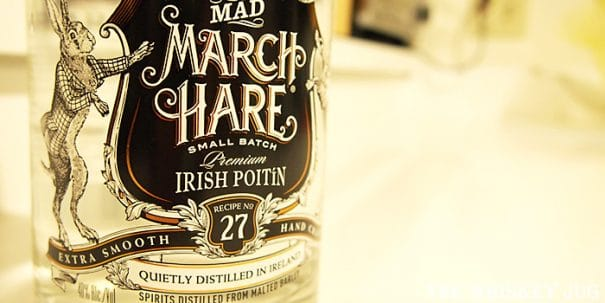Mad March Hare Poitin Label