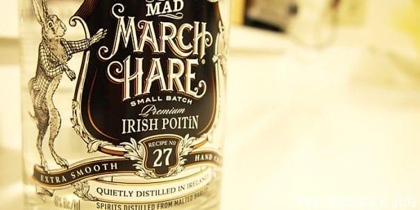 Mad March Hare Poitin Label
